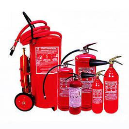 Огнетушители и комплектующие к огнетушителям