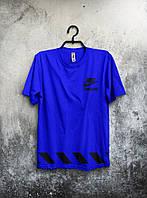"""Футболка мужская Nike """"Trask & Field"""" (синяя)"""