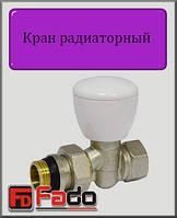 """Кран радиаторный верхний Fado NEW 1/2"""" прямой"""