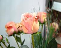 Роза Премиум, Н 82 см, силикон, Искусственный цветок, Днепропетровск