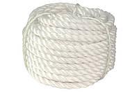 Канат Полипропиленовый д12мм ( 50м) крученое плетение  (кратно)