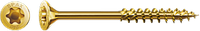 Саморізи Spax, Потайна головка, T-STAR plus, 8 mm, WIROX, неповна різьба