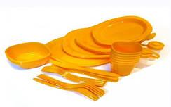 Посуда многоразовая пластиковая