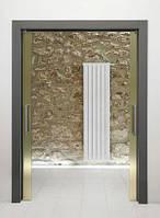 Алюминиевый дизайнерский радиатор Global OSKAR 1000 (секция)