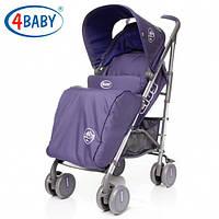 Детская Коляска прогулочная трость 4baby - City(5 цветов)Purple