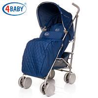 Детская Коляска прогулочная трость 4baby - Le Caprice (6 цветов)Navy Blue