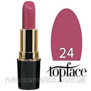 TopFace Губная помада Matte Lipstick матовая 24 light cherry