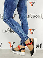 Женские босоножки, сандалии  лакированные