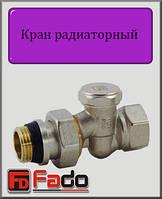 """Кран радиаторный нижний Fado NEW 3/4"""" прямой"""