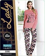 Пижама Lady Lingerie кофта и штаны 9236 L