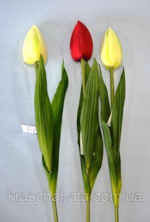 Цветок искусственный, Тюльпан, H51 см, Искусственные цветы, Днепр