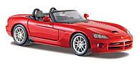 Автомодель Maisto 1:24 Dodge Viper SRT-10 Красный (31232 red), фото 1