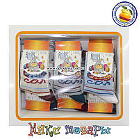 Носки с машинкой для малышей Размер: 0- 1 год (12 шт в упаковке) (5280-3)