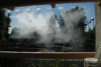 Туман охлаждение воздуха летом - уличный кондиционер Вдох-Нова, фото 1