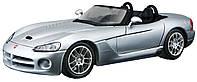 Автомодель Maisto 1:24 Dodge Viper SRT-10 Серебристый (31232 silver)