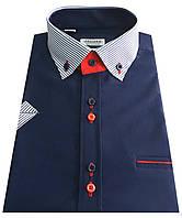 Мужская рубашка с коротким рукавом S 58.4 - 3032V4