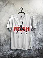 Футболка мужская Nike Jordan Fresh Air (белая)