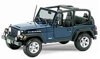 Автомодель Maisto 1:24 Jeep Wrangler Rubicon Синий (31245 blue)