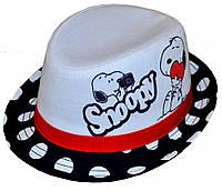 """Шляпа детская """"Snoopy(Снуппи) девочка""""  красивая на  девочку  для праздника или утренника в детский сад"""