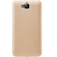 Чехол NILLKIN для Huawei Y6 Pro - Super Frosted Shield Gold