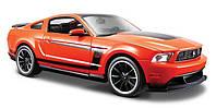 Автомодель Maisto 1:24 Ford Mustang Boss 302 Оранжевый (31269 orange), фото 1