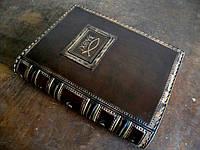 Кожаная обложка для книг, фото 1