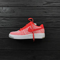 Кроссовки женские Nike air Flyknit WATERMELON RED-WHITE, найк аир флайкнит