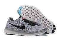 Кроссовки Nike Free Run 5.0 Flyknit Grey Black, фото 1