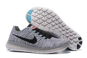 Кроссовки Nike Free Run 5.0 Flyknit Grey Black