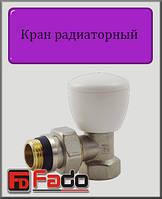 """Кран радиаторный верхний Fado NEW 1/2"""" угловой"""