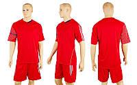 Футбольная форма CO-3109-R (р-р M-XXL, красный, шорты красные)