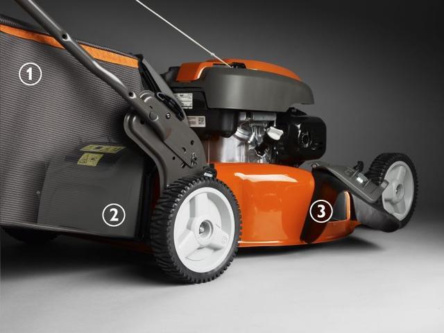 Все виды кошения доступны с профессиональной газонокосилкой Husqvarna LC 356