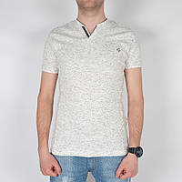 Мужская летняя футболка с мысиком - Штрих - Модель 144-19