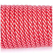 Paracord Type III 550, red white camo #078 (10 м.)