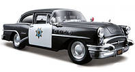 Автомодель Maisto 1:24 Buick Century 1955 Чёрный (31295 black)