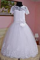 Нарядное длинное платье для девочки