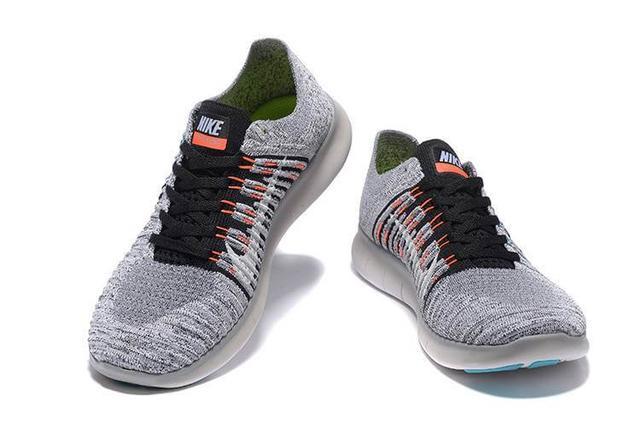 Nike Free Run 5.0 Flyknit Grey Black
