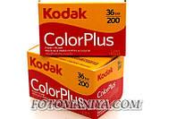 Фотоплівка кольорова, негативна  KODAK COLOR PLUS 200/36