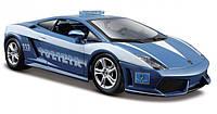 Автомодель Maisto 1:24 Lamborghini Gallardo LP560-4 - Polizia Синий (31299 blue)