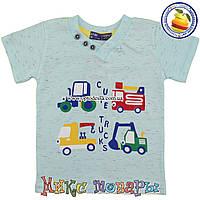 Футболка Автопарк для мальчика от 1 до 4 лет Турция (5291-3)