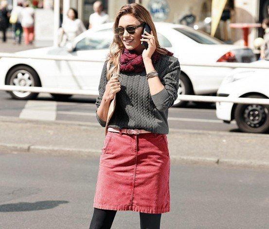 Вельветовая юбка Woman р. 50 от ТСМ Tchibo Германия