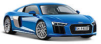 Автомодель 1:24 Audi R8 V10 Plus синий - тюнинг Maisto (31513 blue)