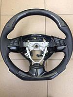 Руль Mitsubishi Lancer X (анатомия+карбон)