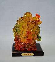 Хоттей, статуэтка, искусственный янтарь, Фен шуй, Днепропетровск, фото 1