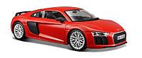 Автомодель 1:24 Audi R8 V10 Plus красный - тюнинг Maisto (31513 red)