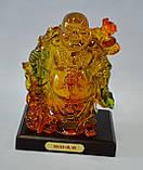 Хоттей, статуетка, штучний бурштин, Фен шуй, Дніпропетровськ, фото 2