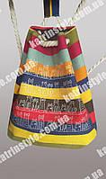 Текстильный молодежный городской рюкзак