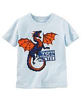 Летняя футболка с принтом OshKosh B'gosh для мальчика