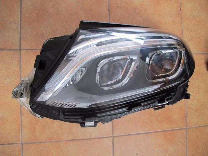 Левая фара Mercedes GLE-Coupe б/у