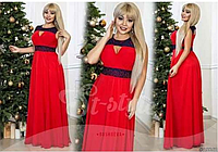 Красивое вечернее платье, батал р.48-52,ST Style